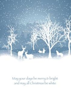 A Snowy Christmas by Retroactive Studios for Minted.