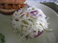 Kfc Coleslaw by Real Employee from Food.com:   I worked for KFC for 3 years and coleslaw making was a near daily occurrence. This is the real recipe scaled down to table size. I see lot of recipes claiming to be the real thing but none are. This is the real thing. The sugar amount is not a typo.