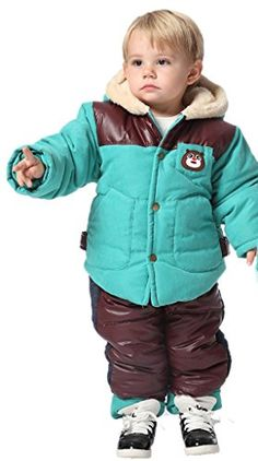 Yudear Boys Coat Children Baby Bears Clothes and Trousers Sets Tiffany 7080 cm >>> Continue to the product at the image link.