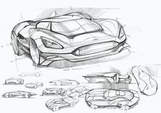 Some sketches on Behance