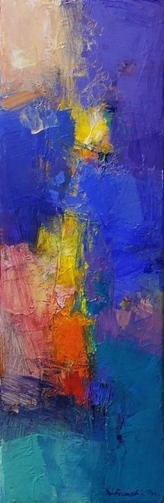 May 2016 - 1 10.0 cm x 30.0 cm oil on canvas 2016