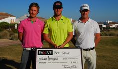 Top three in the inaugural Evolve Pro Tour event at El Valle Golf