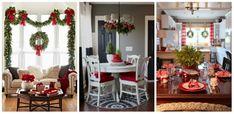 Decoratiuni interioare de Craciun Ladder Decor, Table Settings, Dining, Blog, Home Decor, Interiors, Food, Decoration Home, Room Decor