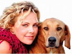 Celebrities & Dogs - if it weren't for the dog, she'd be hideous, LOL