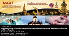 IASGO 2013 World Congress of the International Association of Surgeons, Gastroenterologists and Oncologists 부카레스트 외과 소화기 종양 학회