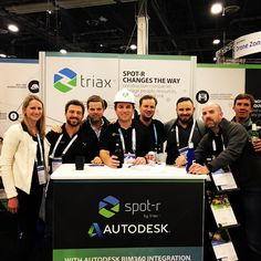 Incredible week in #LasVegas at @autodeskuniversity #AU2017 launching our EquipTag and integration with @autodeskbim360! Thanks to everyone who stopped by our booth to see Spot-r firsthand. Learn how you can improve safety and efficiency on your jobsite at www.triaxtec.com | #TriaxTec #construction #constructionworker #technology #tech #iot #internetofthings #innovation #wearables #successfulforeman #ibuildamerica #safetyfirst #fridayfeeling #photooftheday