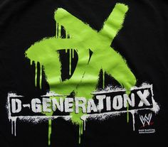 Men's WWE D-Generation X Shirt  DX Shawn Michaels Triple H Vintage Size Medium #Hybrid