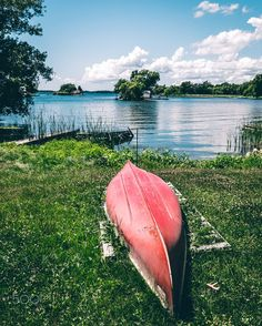 Canoe on Shore by Kaitlyn McLachlan on 500px
