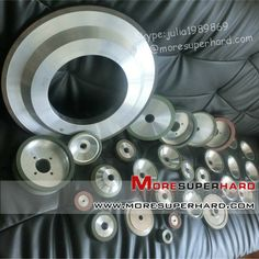Resin bond diamond/CBN grinding wheels~ Main Features: high self-sharpening ability, high cutting efficiency; good finishing, low heat dissipation and no burn on workpiece. It's very suitable for high efficiency and precision grinding of most of workpiece. Application of diamond wheel: tungsten carbide, ceramic, glass, magnetic materials, silicon materials, powder metallurgy, thermal spraying alloy etc. Application of CBN wheel: high speed steel, stainless steel, die steel, cast steel etc