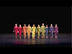 Merce Cunningham Dance Company at BAM: Second Hand - color coordination amongst costumes - wow