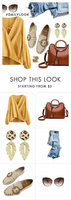 """""""Daily Look"""" by dressedbyrose ❤ liked on Polyvore featuring R13, Natalie B, StreetStyle, Dailylook, polyvoreeditorial and gamiss"""