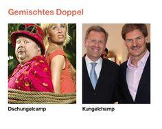 Dschungelcamp vs. Kungelchamp