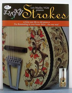 RARE Lois Mueller LUCKY STROKES 16 rosemaling projects, patterns, instructions | eBay