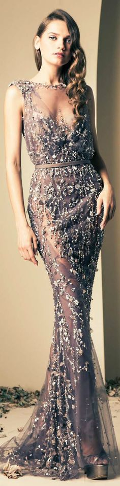 Ziad Nakad Couture | Fall/Winter 2014 #gown #dress #elegant ♥