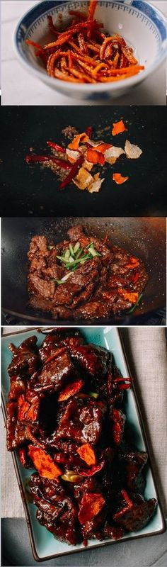 #Tangerine #Beef recipe by the Woks of Life