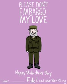 Please don't embargo my love.