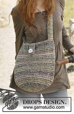 Rondo crochet bag, free pattern.