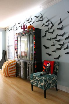 our Halloween House, using 5 tutorials and a little shopping | MADE