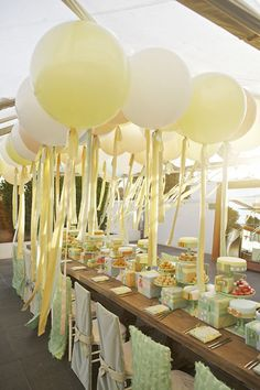 101 ideas for a yellow wedding