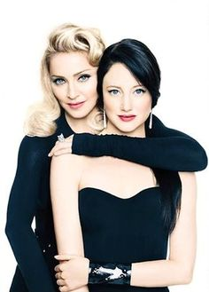 Madonna & Andrea Riseborough