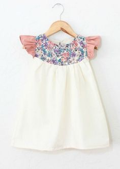 Ruffle Sleeve Cotton & Linen Dress | TajandMe on Etsy