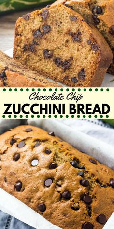 Chocolate Chip Zucchini Bread Is Moist, Tender And Filled With Chocolate Chips. … Chocolate Chip Zucchini Bread Is Moist, Tender And Filled With Chocolate Chips. Change Your Garden Zucchini Into This Delicious Treat Gluten Free Zucchini Bread, Chocolate Chip Zucchini Bread, Zucchini Bread Recipes, Chocolate Chips, Zucchini Loaf, Pumpkin Zucchini Bread, Zucchini Bread Muffins, Zuchinni Bread, Banana Bread Recipes