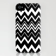 Zig-Zag 2 iPhone Case by Chris Klemens - $35.00  {this matches my missoni shirt}