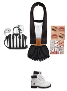 """""""Untitled #50"""" by xxxfasiontrendsxxx on Polyvore featuring Calvin Klein, Boohoo, Timberland, Casetify, ASOS, Sydney Evan, NYX and Givenchy"""
