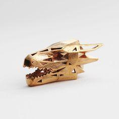 Dragon Pendant - Bronze - Wintercroft  - 2