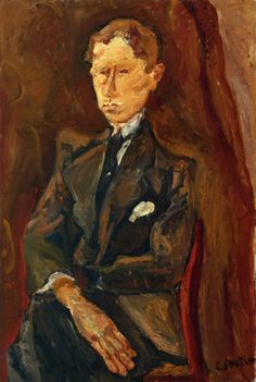 chaïm soutine(1894-1943), le rouquin, c. 1917-19. oil on canvas, 207.01 x 138.43 cm. private collection http://www.the-athenaeum.org/art/full.php?ID=34184