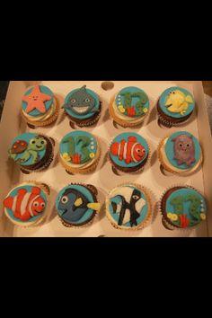 Finding Nemo cupcakes :)