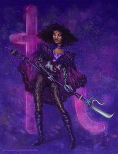 "Sailor Saturn | Here's What The Cast Of ""Sailor Moon"" Would Look Like As Carefree Black Girls"