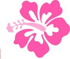 Coral Hibiscus clip art - vector clip art online, royalty free & public domain