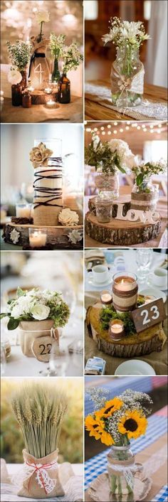 country wedding decorations 57