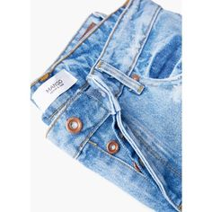 MANGO Boyfriend Angie Jeans ($28) ❤ liked on Polyvore featuring jeans, pants, destroyed jeans, light wash boyfriend jeans, light wash ripped boyfriend jeans, torn jeans and ripped jeans