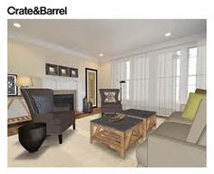 loftyfied on pinterest room planner empty room and crate and barrel
