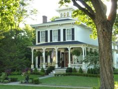 Historic Victorian Home in Geneva, Illinois