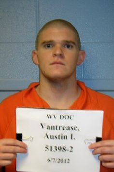 Another Mug Shot of Austin Vantrease