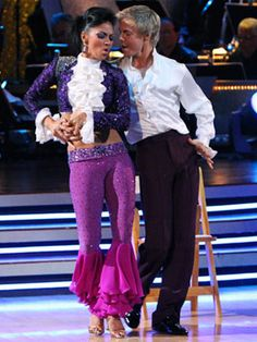 "Nicole Scherzinger & Derek Hough on 'Dancing with the Stars' dancing to Prince's ""Kiss"""