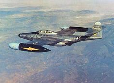 F-89D Scorpion in flight