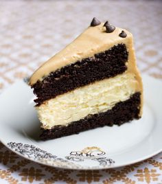 Chocolate Peanut Butter Cheese Cake