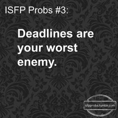 ISFP Probs ¯\_(ツ)_/¯