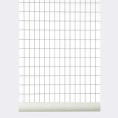 ferm living behang grid # 160 zwart wit collectie online bij emma b ferm living winkel Utrecht voor ferm living behang online shop wallpaper half moon o.a.
