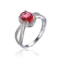 Blue and red are my love.One is sad,another is passion. Jewelrypalace Women's Oval Pink Sapphire Cubic Zirconia 9... https://www.amazon.ca/dp/B01EHIU9HO/ref=cm_sw_r_pi_dp_x_uStYxb1CB69M5