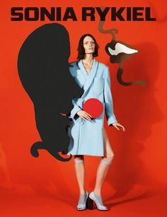 Sonia Rykiel's Fall/Winter 2013 Campaign | Trendland