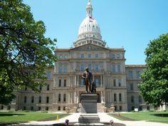 Lansing, MI : Capitol of Lansing, Michigan