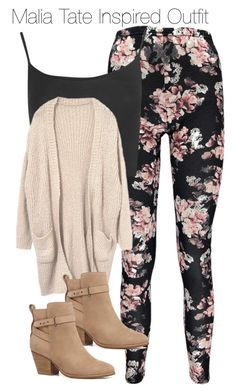 """""""Malia Tate Inspired Outfit"""" by staystronng ❤ liked on Polyvore"""