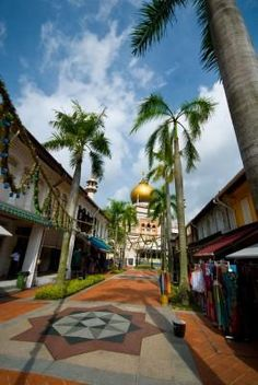 The Arab enclave of Kampong Glam, in Singapore, is also known as Arab Street, and is jammed with charm and oriental magic