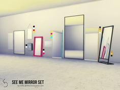 Maxis Match CC for The Sims 4 • Mirror set...