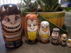 Russian Nesting Dolls for Geeks - Where the Wild Things Are